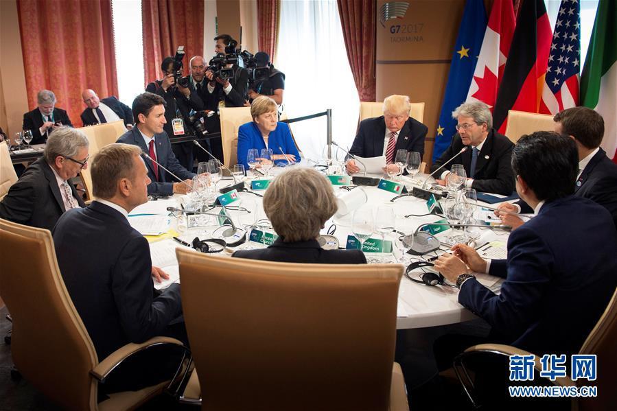 七国集团峰会发表反恐联合声明