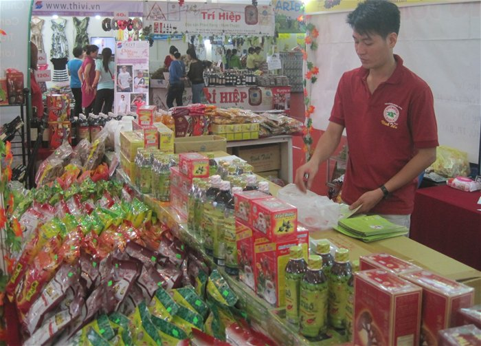 100多家胡志明市企业在槟枷省推介产品