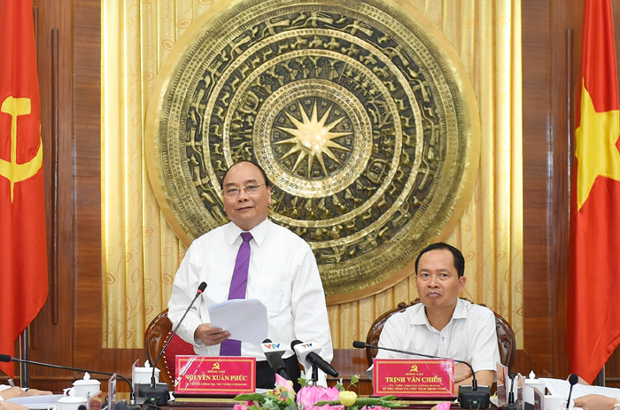 阮春福总理:清化省要成为引进投资的模范省份