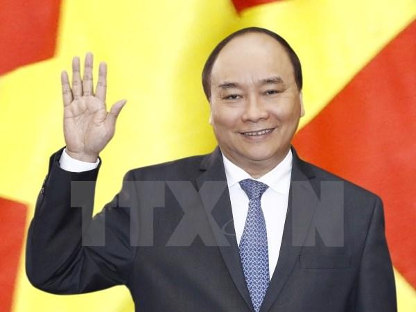 政府总理阮春福启程对美国进行正式访问