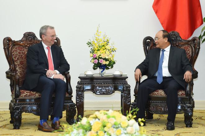 政府总理阮春福:谷歌应在越南开设正式代表处
