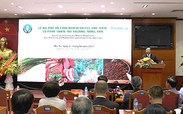 越南设立农产加工和市场拓展局