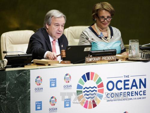 联合国海洋大会闭幕 各方承诺促进海洋可持续发展