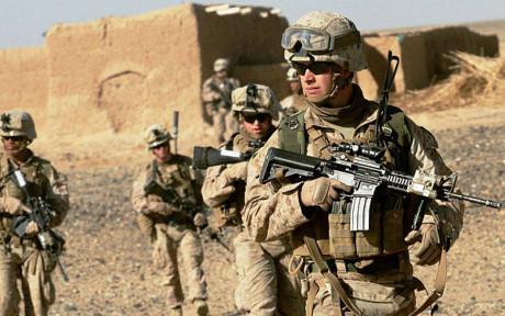 特朗普授权美防长确定驻阿美军规模