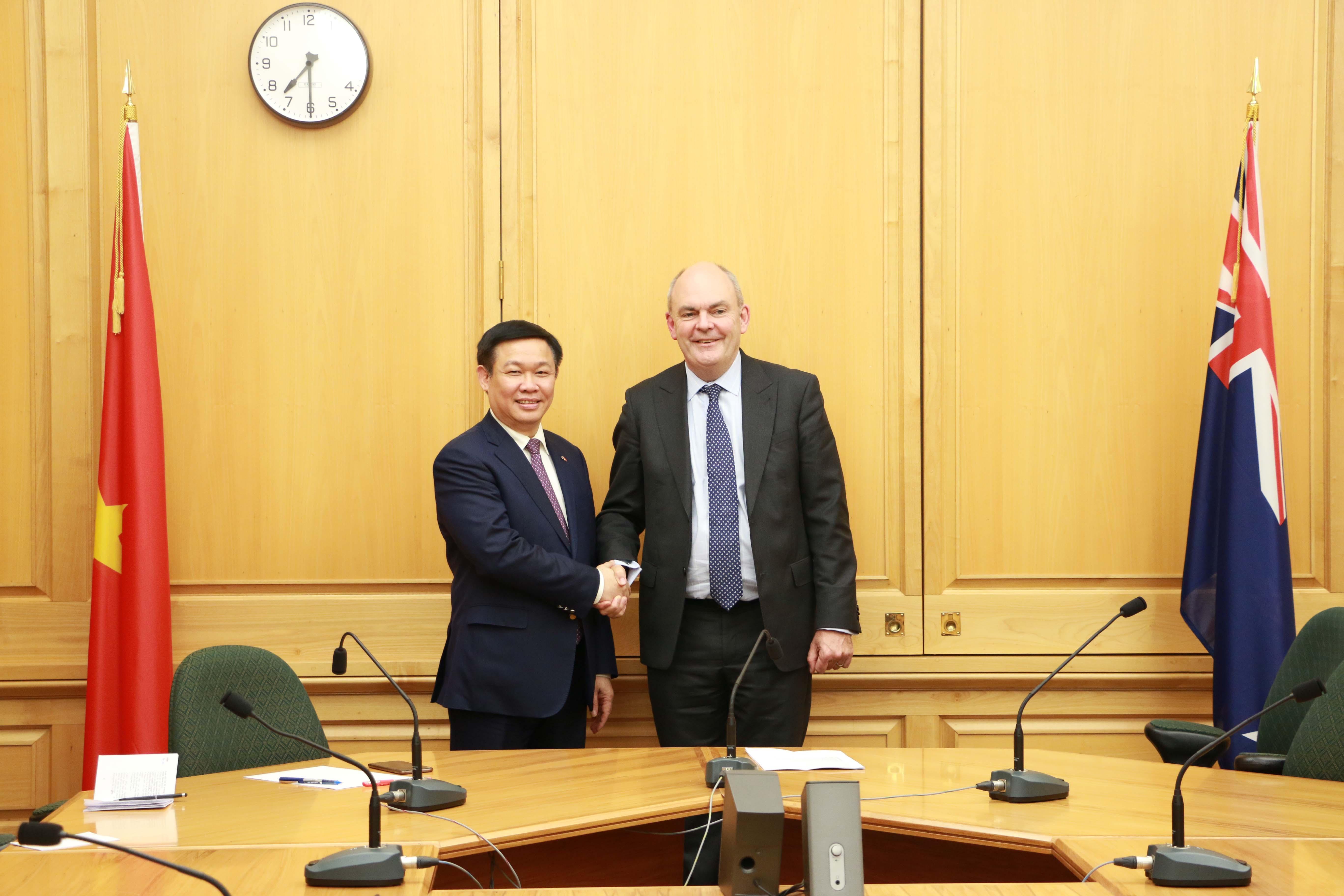 政府副总理王廷惠访问新西兰