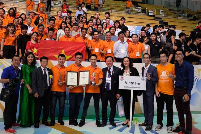 越南夺得2017年亚太大学生机器人大赛冠军