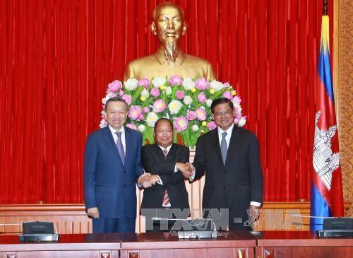 继续增进越老柬三国的合作关系