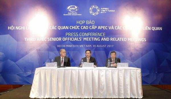 2017年亚太经合组织第三次高官会圆满落幕