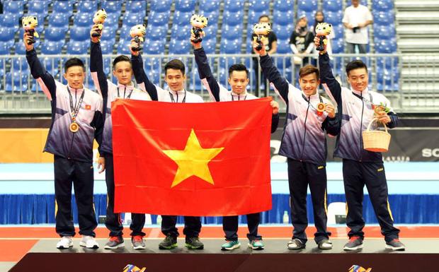 2017年东南亚运动会:越南4金3银5铜居奖牌榜第四