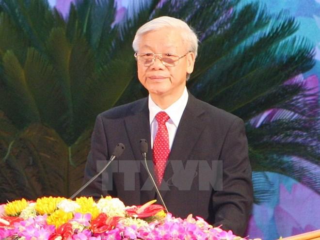 越共中央总书记阮富仲即将对印尼和缅甸进行访问