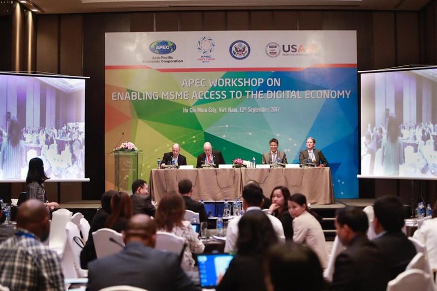 2017APEC年:企业切入数字经济能力及面临的挑战