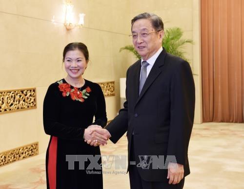 中国全国政协重视发展与越南祖国阵线中央委员会的友好关系