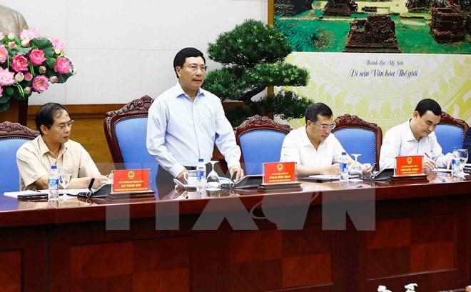 越南2017年亚太经合组织国家委员会召开第九次会议