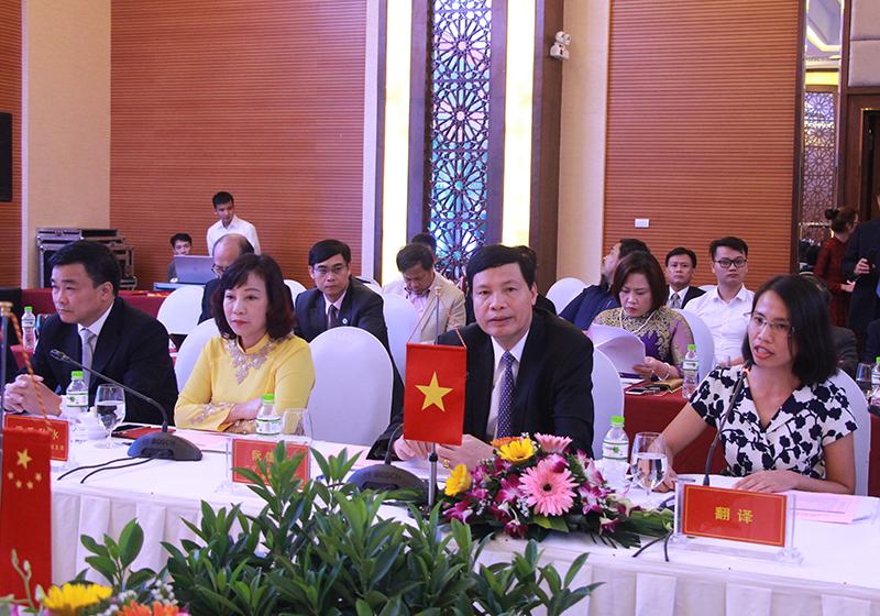 """越南广宁省与中国福建省企业对接""""洽谈会在广宁省下龙市举行"""