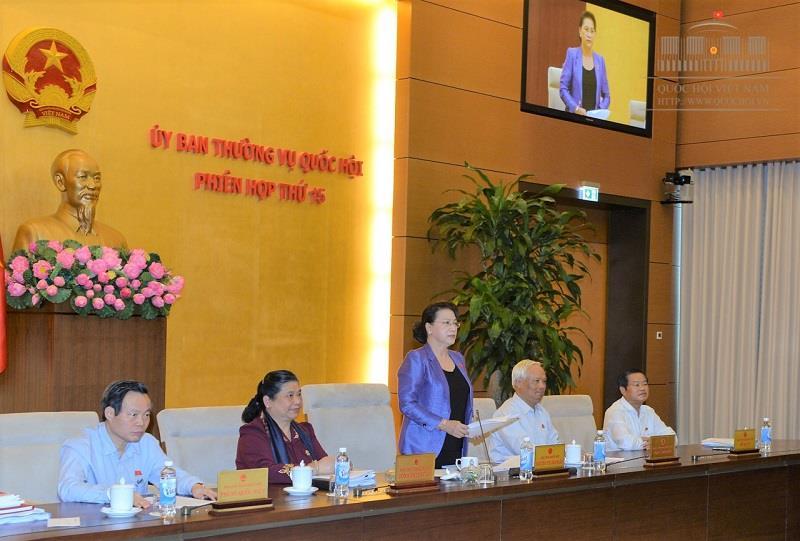 越南国会常委会第15次会议闭幕