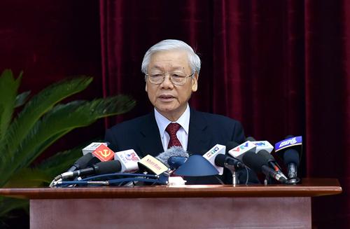 越共第十二届中央委员会第六次全体会议开幕