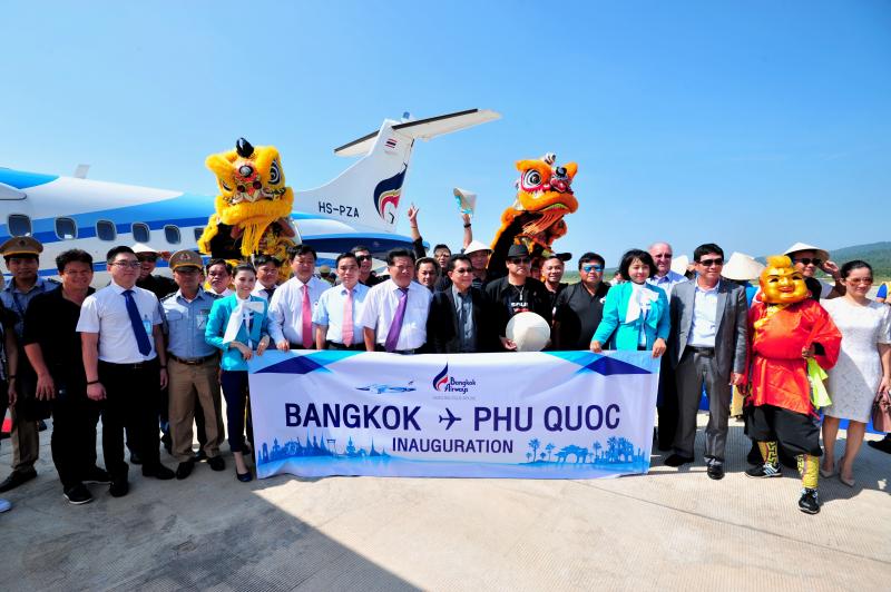 曼谷航空公司开通飞往越南富国岛的直达航线