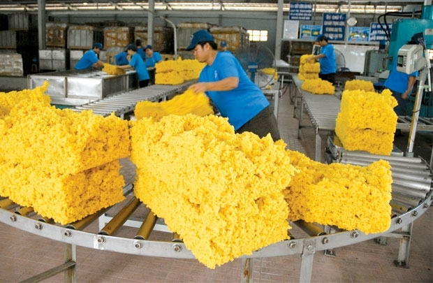 2017年前9个月越南橡胶贸易顺差额达逾8.2亿美元