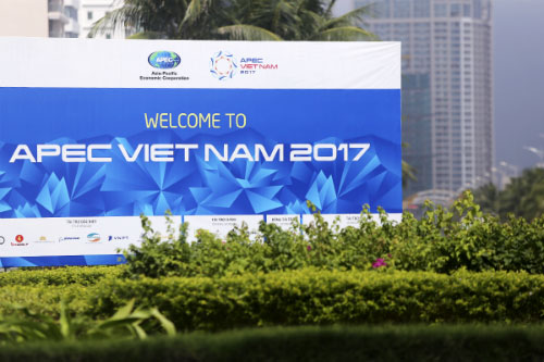 2017年APEC领导人会议周:越南张开双臂欢迎国际友人