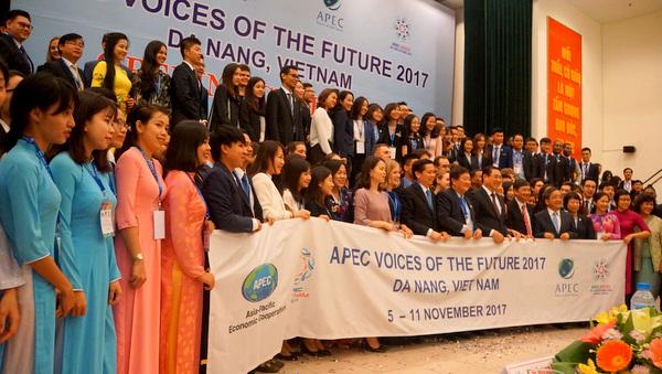 2017年APEC未来之声论坛在岘港市开幕