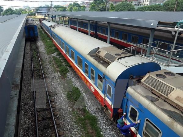 越南河内至中国江西国际货运班列正式开通