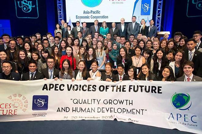 各国代表赴会安市出席APEC未来之声论坛