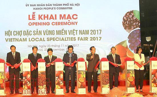 2017年越南地方特产展销会在河内市开幕