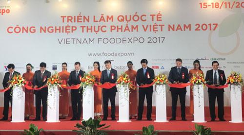 越南食品工业国际展览会在胡志明市开展