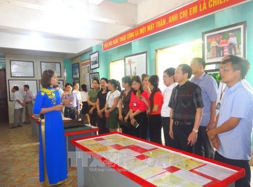 """""""黄沙与长沙归属越南——历史证据和法律依据""""地图资料展在北江省举行"""