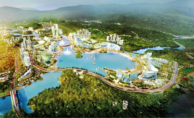 2018年云屯特区将动土建设价值27亿美元的组合项目