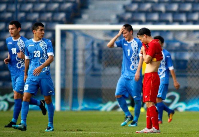 M150国际足球竞赛:越南U23队无缘决赛