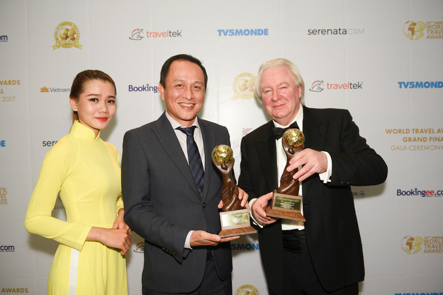越南国家航空公司荣获2017年世界旅游大奖两个权威奖项