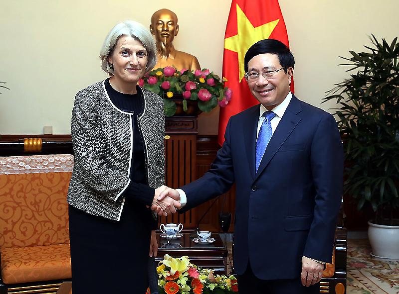 越南希望丹麦支持签署《越南-欧盟自由贸易协定》
