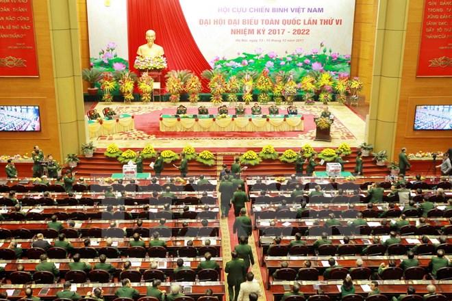 越南老战士协会第六届全国代表大会落幕