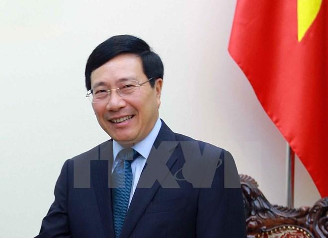 政府副总理兼外交部部长范平明即将对韩国进行正式访问