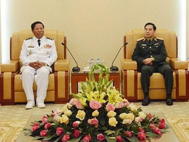 越南-柬埔寨海军加强合作与交流