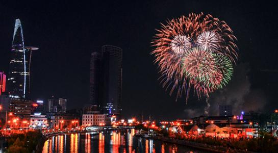 越南胡志明市举办丰富多彩活动喜迎2018年新春