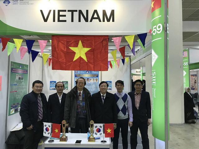越南在韩国首尔国际发明展上获奖