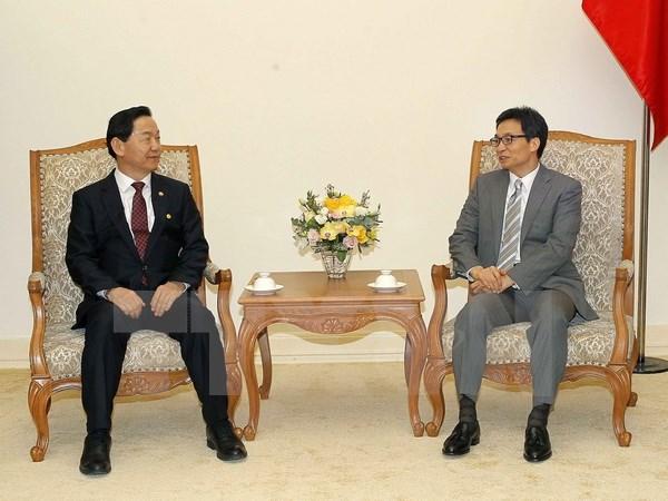 韩国愿意与越南分享教育领域的发展经验