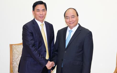 越南和中国香港间的合作关系良好发展