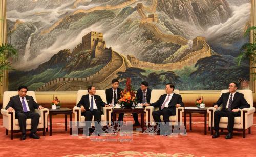 越南国会高级代表团对中国进行工作访问