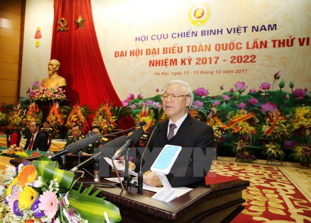 越共中央总书记阮富仲:老战士需积极参与反腐斗争