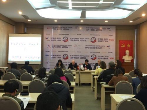第二次俄越国际工业博览会即将举行