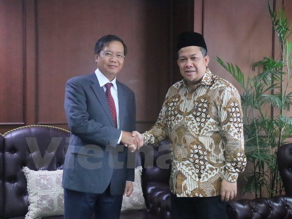 印尼国会副议长重视同越南的合作关系