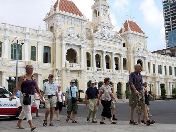 2017年胡志明市接待国际游客量约达640万人次