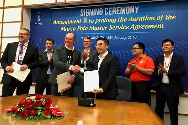 越南FPT软件公司签署价值1亿美元的软件合同