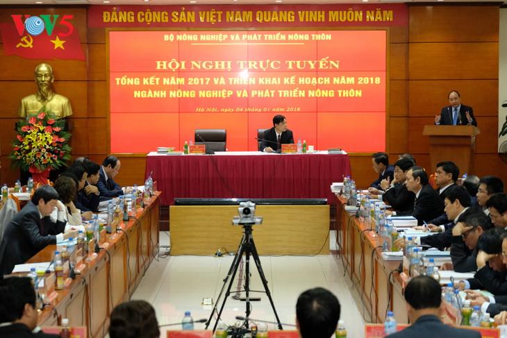 阮春福总理:农业结构调整需发生明显变化