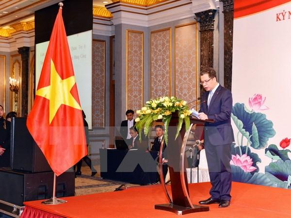 越南驻中国大使馆举行庆祝越中建交68周年招待会
