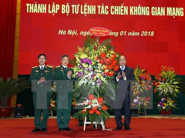 政府总理阮春福:建设现代的网络空间作战力量