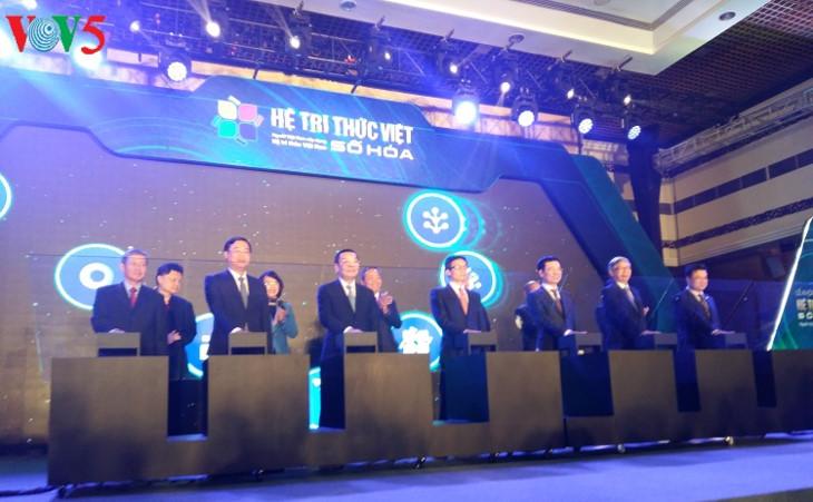 数字化越南知识体系启动